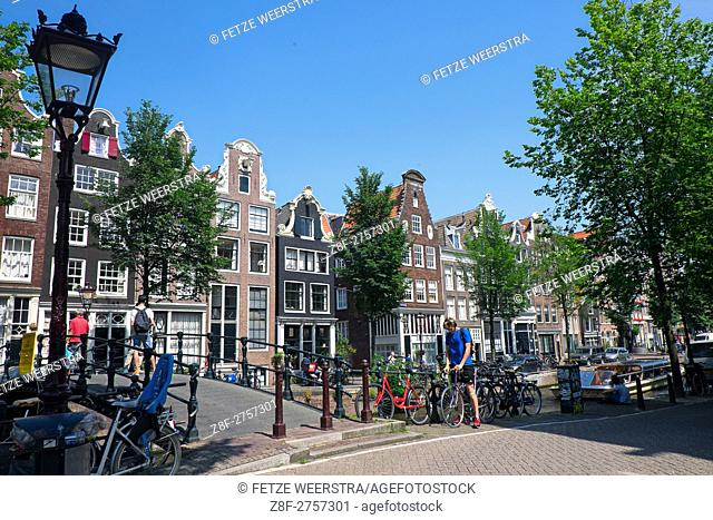 Streets of Amsterdam, the Netherlands