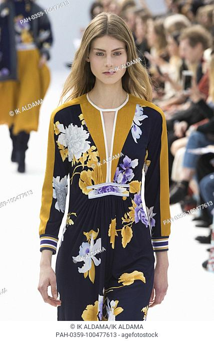 LEONARD Paris'Äã runway show during Paris Fashion Week, Pret-a-Porter Autumn Winter 2018 - 2019 collection - Paris, France 05/03/2018