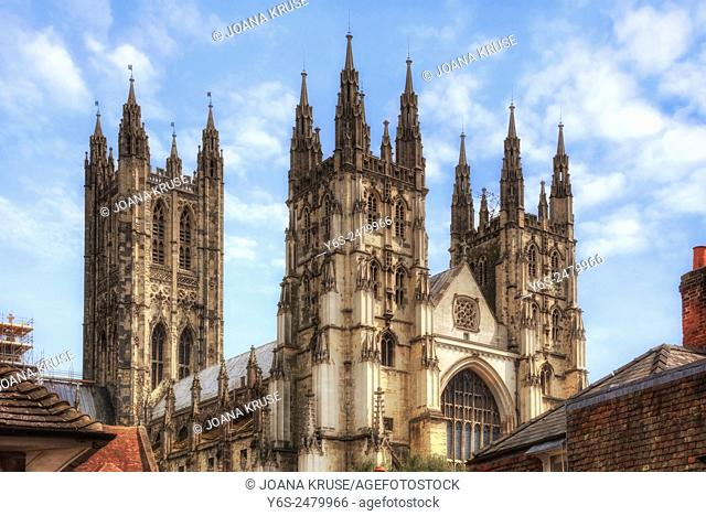 Canterbury Cathedral, Canterbury, Kent, England, United Kingdom