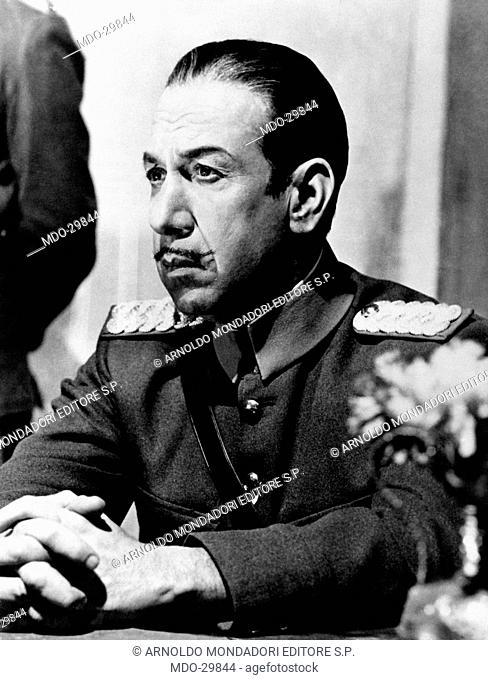 José Ferrer in Lawrence of Arabia. The Puerto Rican-born American actor José Ferrer wearing the Turkish bey uniform in the film Lawrence of Arabia