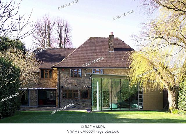 M3 Architects. The Limes, Nugents Park, Pinner, London, UK. Contemporary extension & house remodelling