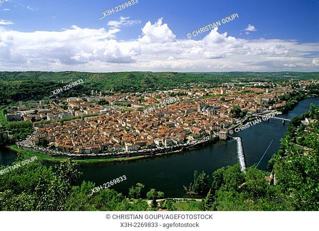 Cahors, Lot department, Midi-Pyrenees region, France, Europe