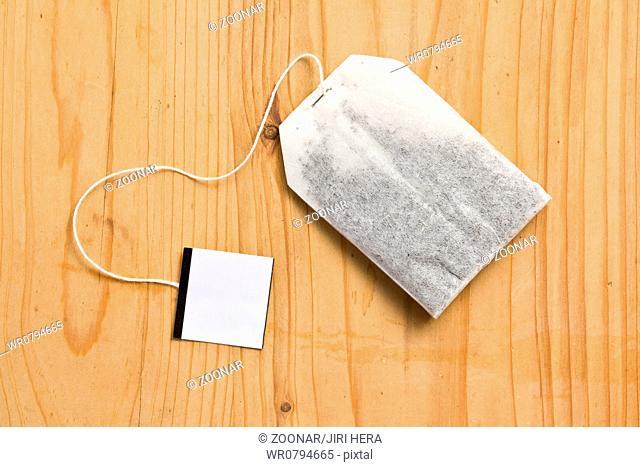 tea bag on table