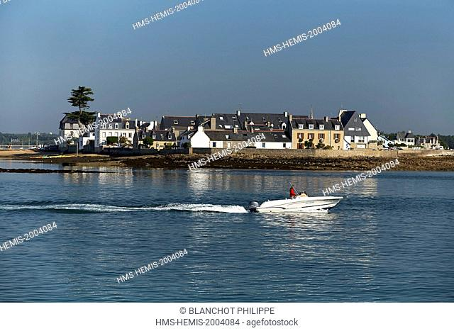France, Finistere, Loctudy, Tudy island