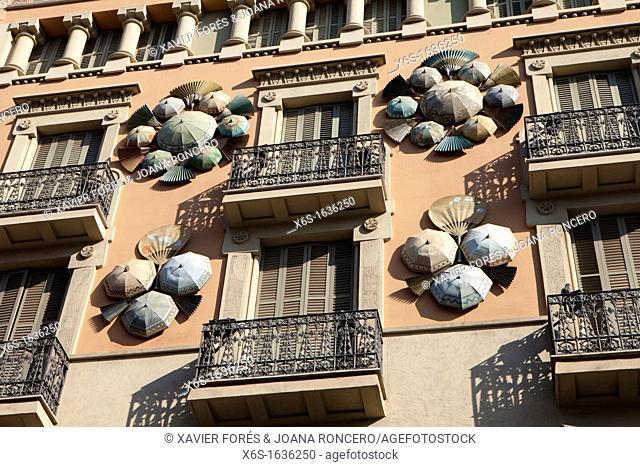 Ramblas of Barcelona, Spain
