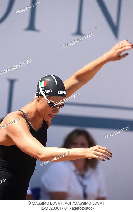 Federica Pellegrini during the 54th International Swimming Sette Colli, Morning Session. Rome, Italy 23/06/2017