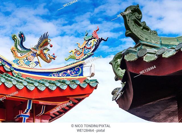 Tua Pek Kong Chinese Temple, Kuching, Sarawak, Malaysian Borneo, Malaysia, Southeast Asia, Asia,