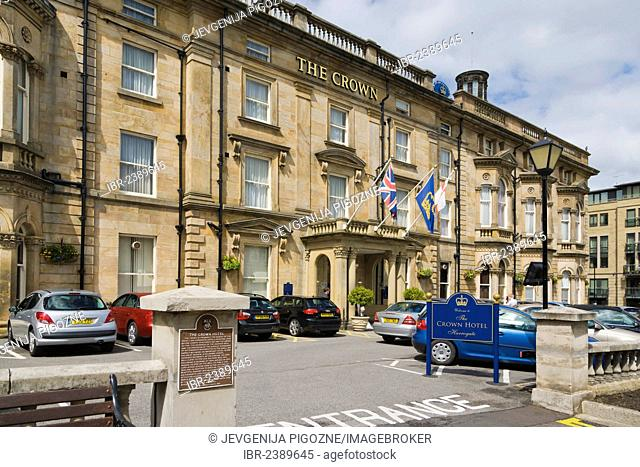 The Crown Hotel, Crown Place, Harrogate, North Yorkshire, England, United Kingdom, Europe