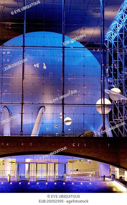 Rose Centre. American Museum of Natural History. Hayden Planetarium