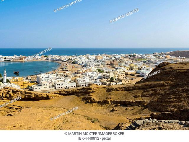 Sur seaport and blue lagoon, Ash Sharqiyah North, Oman