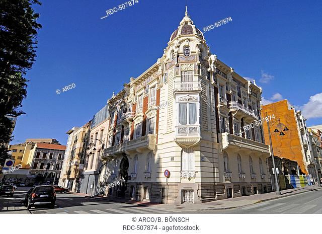 Museo Regional de Arte Moderno, Muram, Museum of Modern Arts, Cartagena, Murcia Region, Spain, Europe