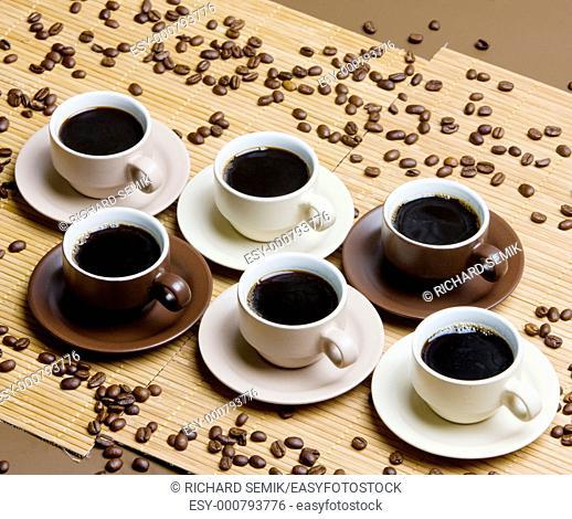 coffee cups still life