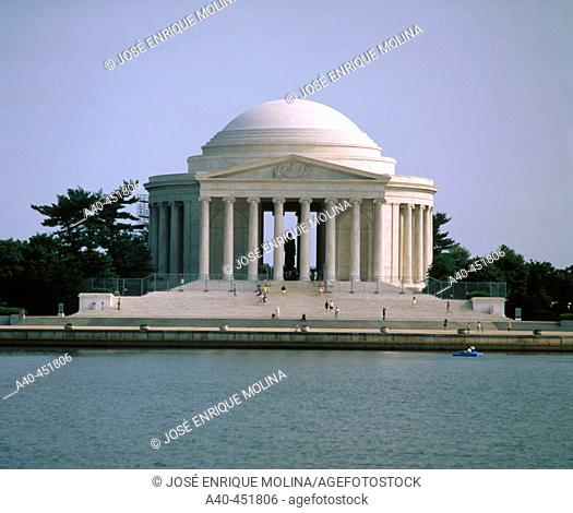Jefferson Memorial. Washington DC. USA