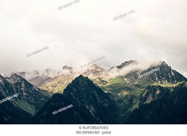 Austrian Alps, Bludenz, Vorarlberg, Austria