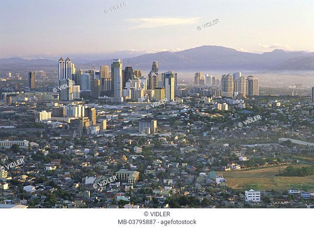 Philippines, Manila, Pasig city business, Area, skyline,  Southeast Asia, Malay archipelago, island group, island, Capital, houses, residences