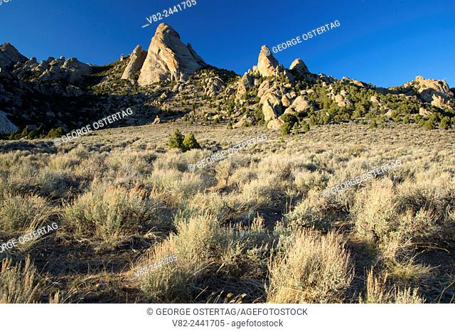 Steinfells Dome, City of Rocks National Reserve, Idaho