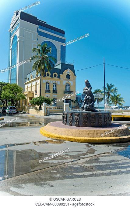 Tribute to the Tayrona Ethnicity, Santa Marta, Magdalena, Colombia