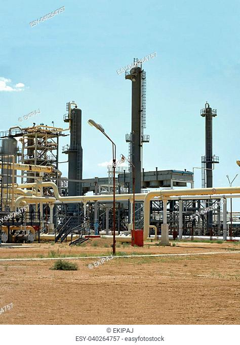 Field petrochemical plant Stock Photos and Images   age fotostock