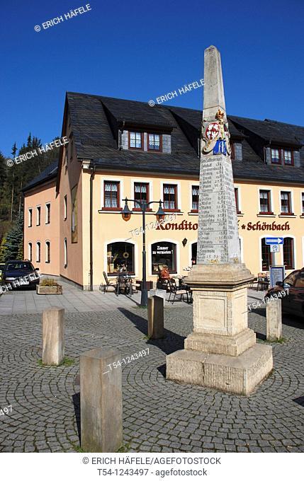 Obelisk in Bad Gottleuba