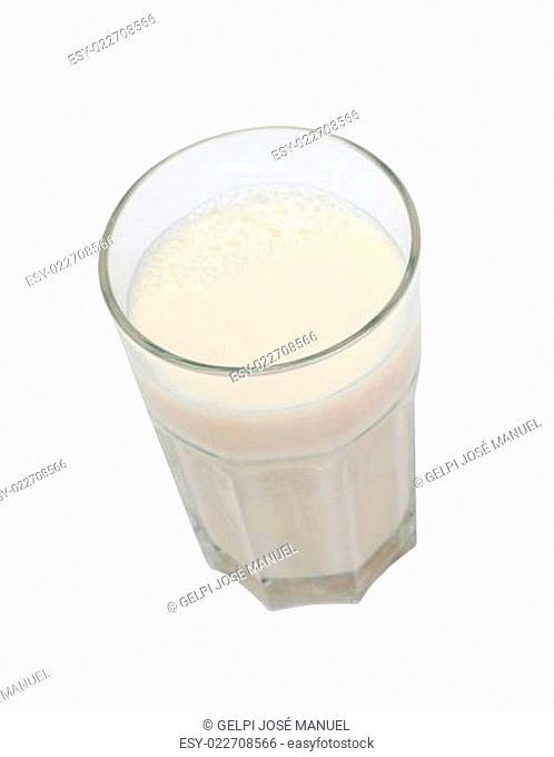 Nutrient glass of milk