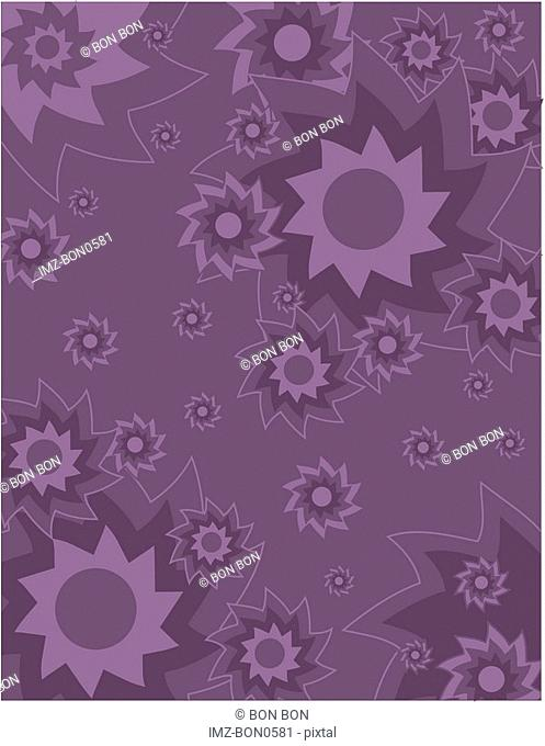 A purple abstract background