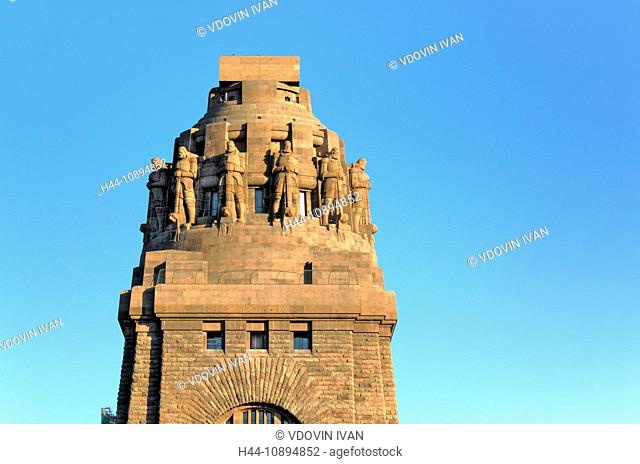 Germany, German, Europe, European, Western Europe, Architecture, building, City, town, Leipzig, Saxony, Monument to the Battle of the Nations