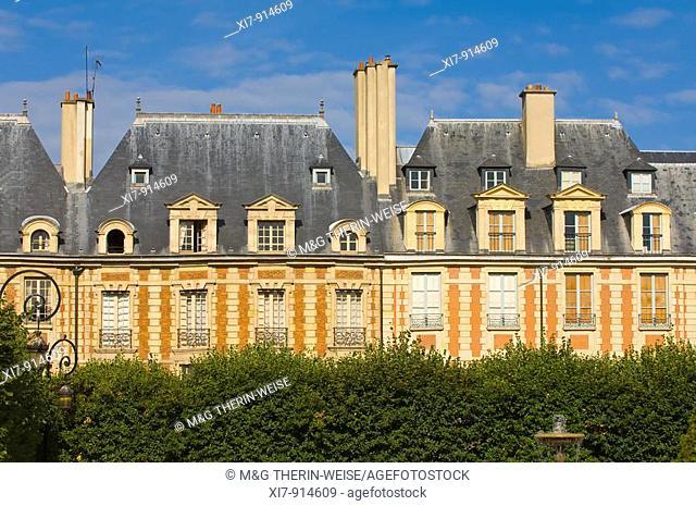 Place des Vosges, Le Marais area, Paris, France