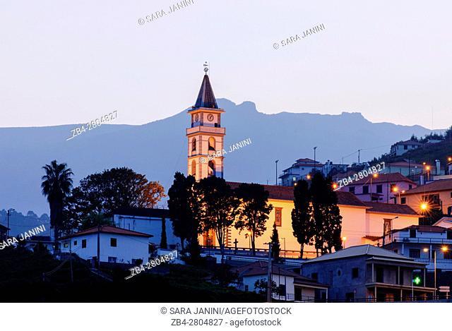 Faial Parish Church in Santana, Madeira, Portugal