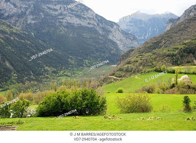 Chistau Valley, Posets Maladeta Natural Park, Sobrarbe, Huesca province, Aragon, Spain