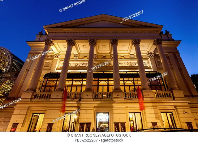 The Royal Opera House, Covent Garden, London, UK