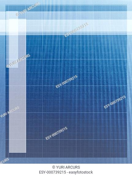 A cool business like blue background template, backdrop for a presentation