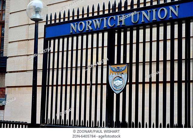 Norwich Union gates