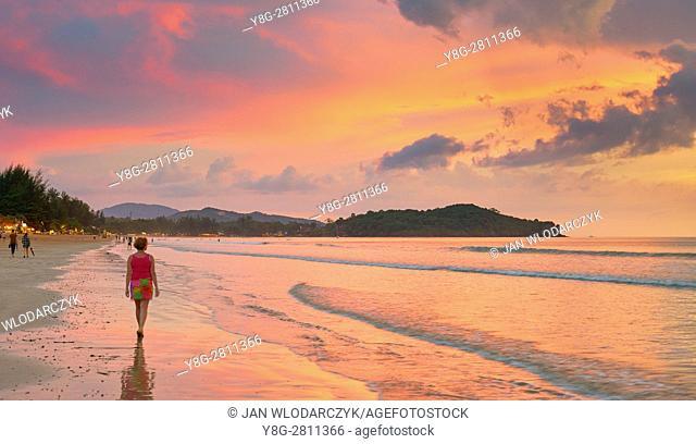 Beach at Ko Lanta Island, Krabi Province, Thailand