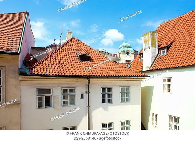 Czech Republic, Prague - Courtyard at The Old Town