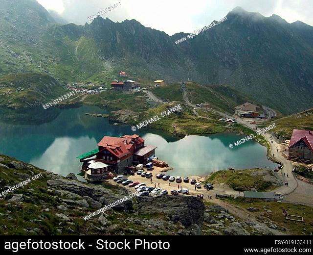 Bergsee in den Karpaten