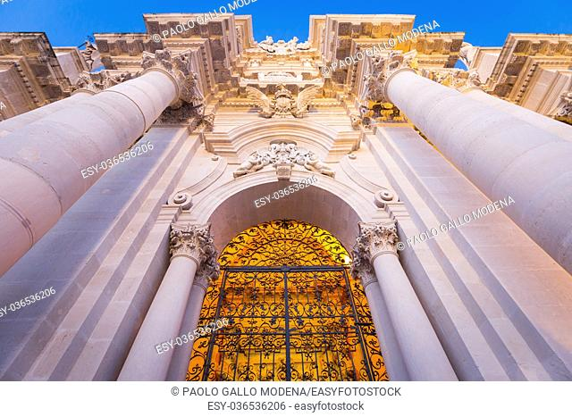 The Cathedral of Syracuse (Duomo di Siracusa) is an ancient Catholic church in Syracuse, Sicily, and is included in a UNESCO World Heritage Site