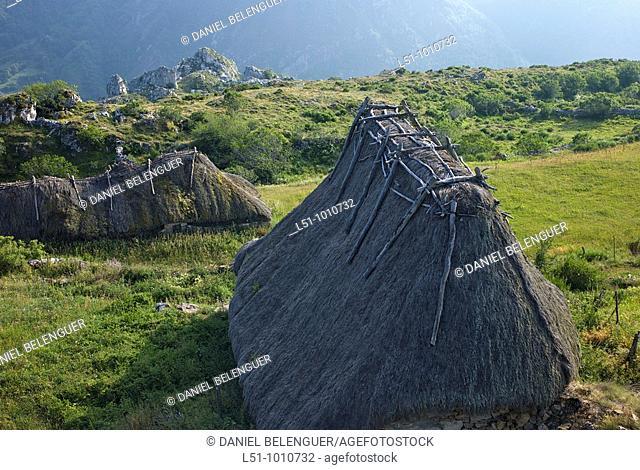 Brañas de Mumian on Somiedo natural park