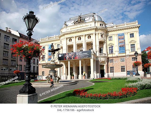 Slovak National Theatre, Opera in Bratislava, Slovakia