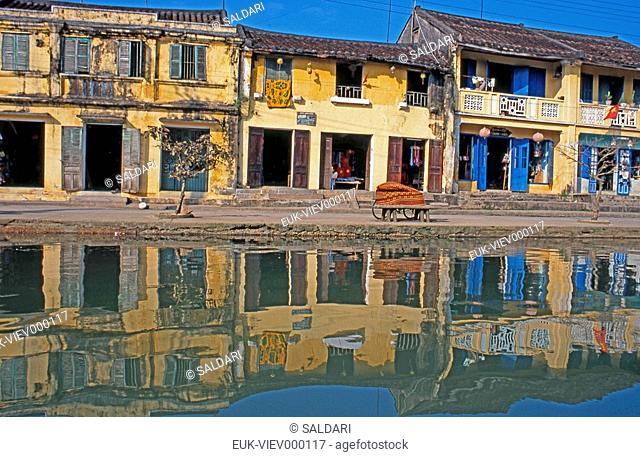 Panorama of Hoi An, Vietnam