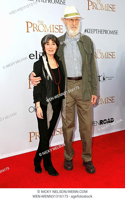 'The Promise' - Premiere - Arrivals Featuring: James Cromwell, Anna Stewart Where: Los Angeles, California, United States When: 14 Apr 2017 Credit: Nicky...