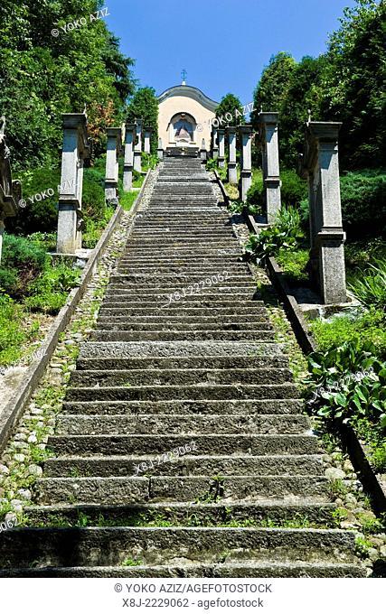 Italy, Lombardy, Airuno, Madonna della pace sanctuary, Santuario della Madonna della pace