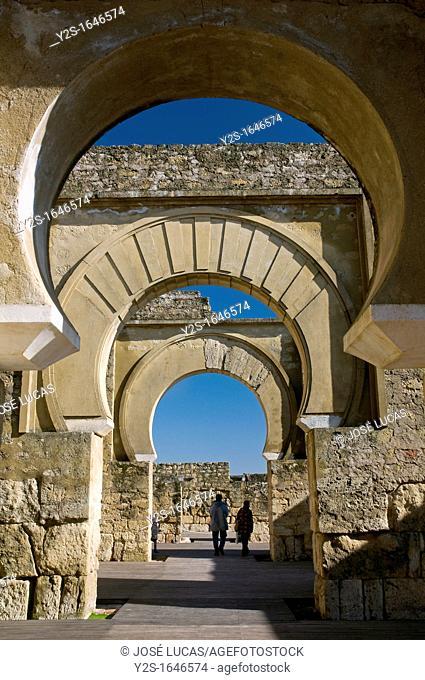 Basilica, Madinat al-Zahra ruins, Cordoba, Region of Andalusia, Spain, Europe