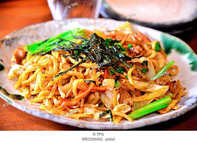 Fried noodles; Hateruma