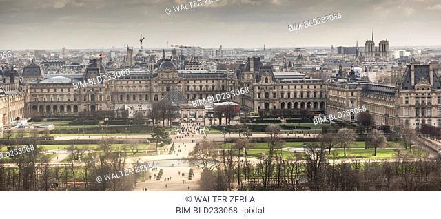 Cityscape of Paris, Ile-de-France, France