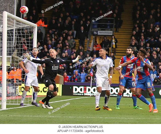2016 Barclays Premier League Crystal Palace v Leicester City Mar. 19.03.2016. Selhurst Park , London, England. Barclays Premier League