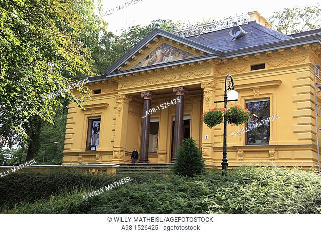 historic Villa Oechsler at Seaside Resort Heringsdorf, Isle of Usedom, Western Pomerania, Germany, Europe