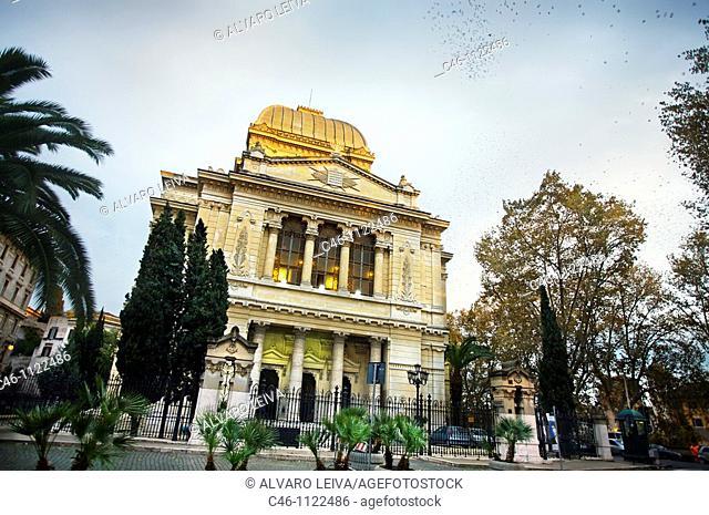 Synagogue. Rome. Lazio. Italy