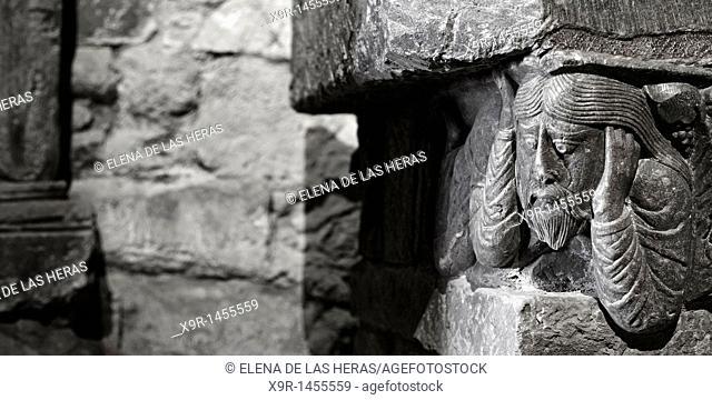 San Millán cenotaph's detail at Suso Monastery  La Rioja  Spain