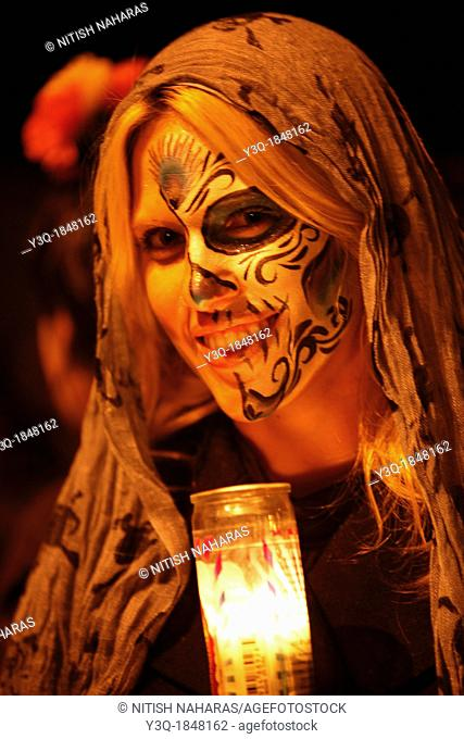 Dia de los Muertos is a Meso-American tradition dedicated to the ancestors which honors both death and the cycle of life  The celebration acknowledges that we...