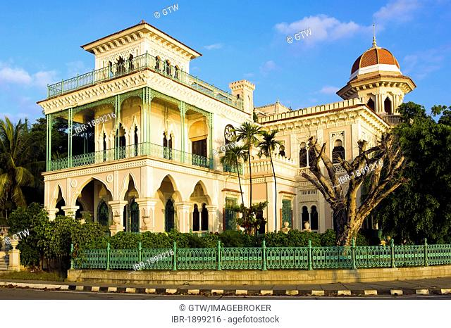 Moorish palast Palacio de Valle, Cienfuegos, Unesco World Heritage Site, Cuba